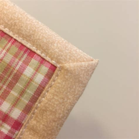 How To Make Mitered Corners On A Quilt