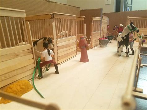 How To Make Model Horse Stables