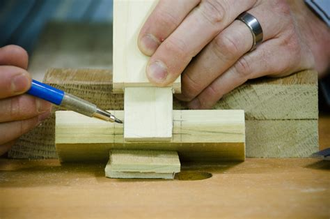 How To Make Mortise And Tenon Joints By Hand