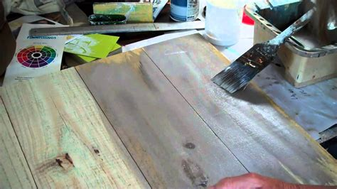 How To Make New Wood Look Old With Paint