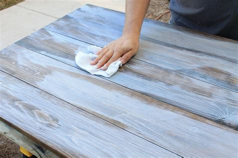 How To Make New Wood Look Weathered Gray
