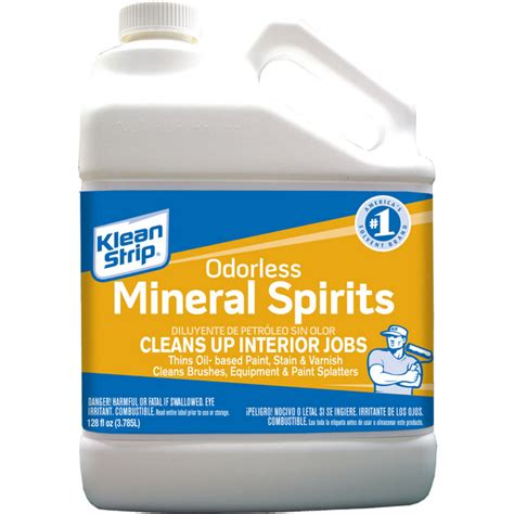 How To Make Odorless Mineral Spirits