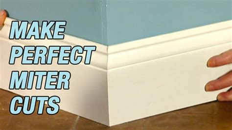 How To Make Perfect Miter Cuts On Youtube