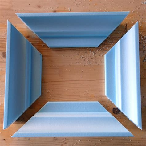 How To Make Picture Frame From Crown Molding