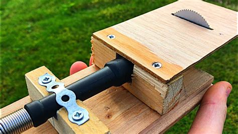 How To Make Powerful Mini Table Saw