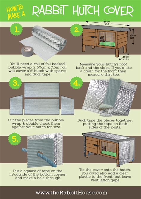 How To Make Rabbit Hutch Cover