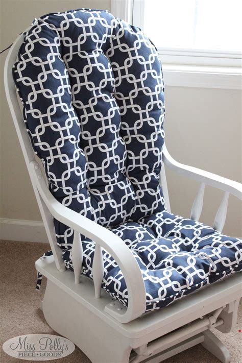 How To Make Rocking Chair Cushion Covers