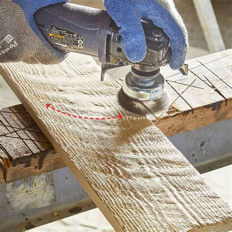 How To Make Rough Sawn Lumber Look Old
