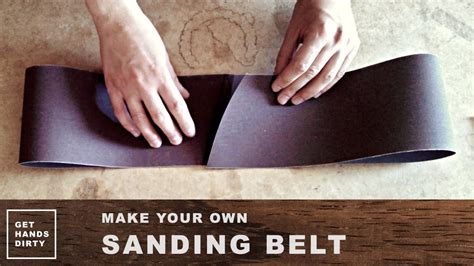How To Make Sanding Belts