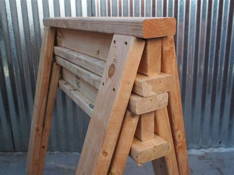 How To Make Sawhorses