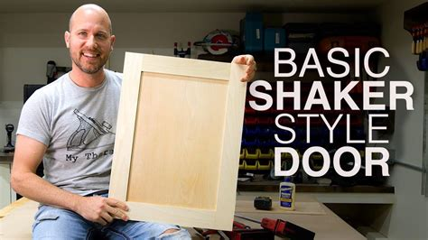 How To Make Shaker Doors On Table Saw