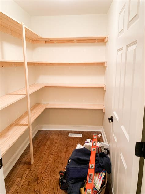 How To Make Shelf Supports For Pantry
