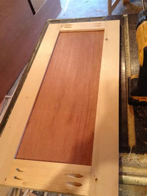 How To Make Simple Shaker Cabinet Doors