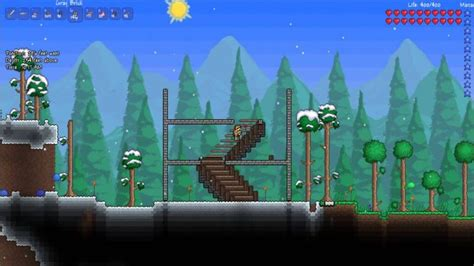How To Make Stairs In Terraria