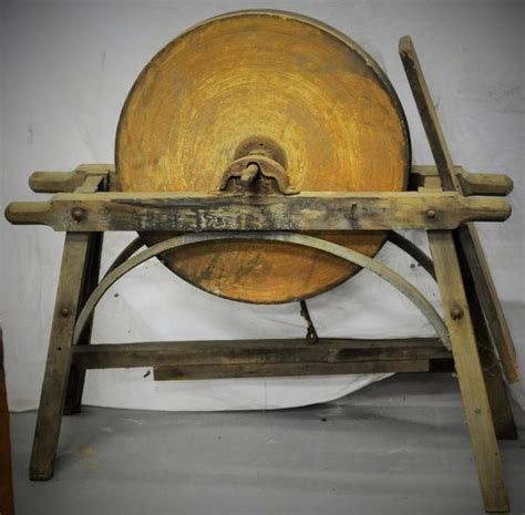 How To Make Stand For Old Grinding Wheel