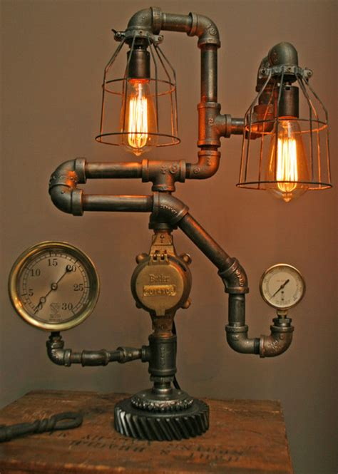How To Make Steampunk Light Fixtures