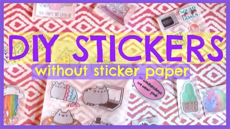 How To Make Stickers Stick To Fabric