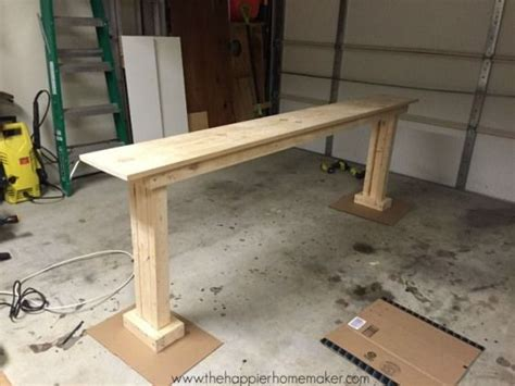 How To Make Sturdy Console Table Legs