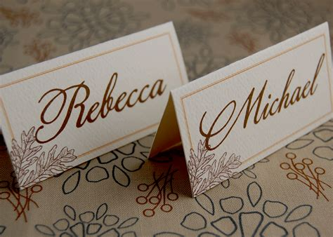 How To Make Table Seating Cards