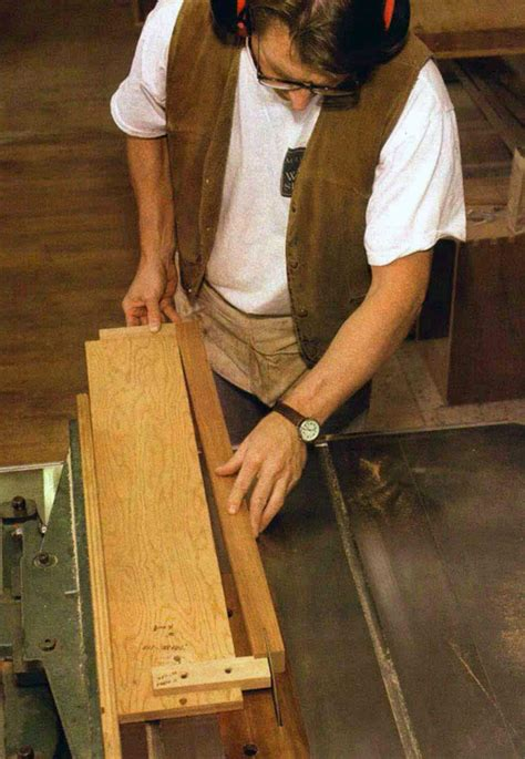 How To Make Tapered Table Legs Video