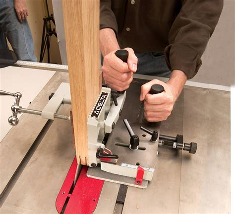 How To Make Tenoning Jig