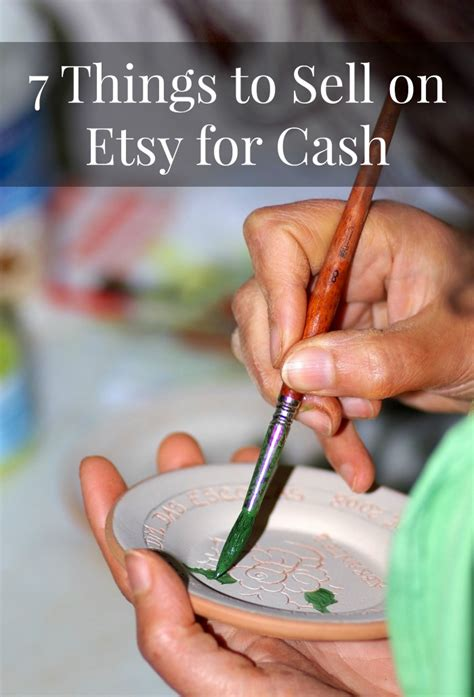 How To Make Things To Sell On Etsy