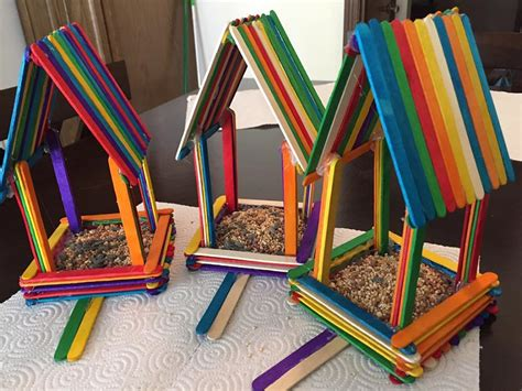 How To Make Things With Wood Popsicle Sticks