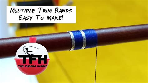 How To Make Trim Bands Rod