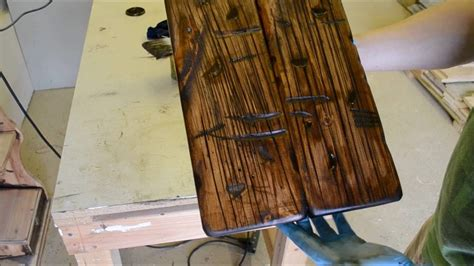 How To Make Varnished Wood Look Old