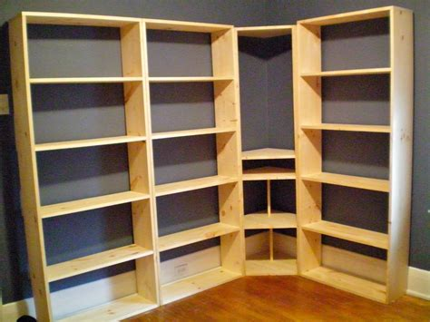 How To Make Wall Unit Bookshelves