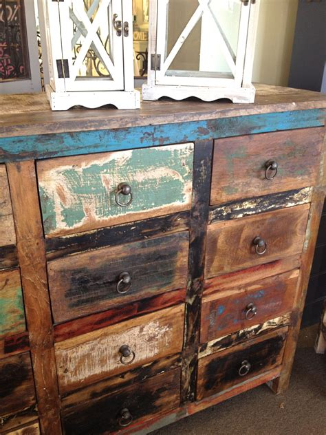 How To Make Weathered Wood Furniture