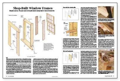 How To Make Window Frames Step By Step