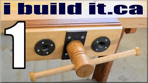 How To Make Wood Bench Vise