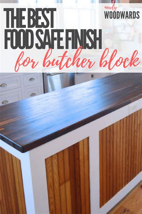 How To Make Wood Countertops Food Safe