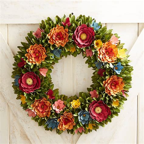 How To Make Wood Curl Wreath