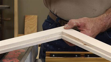 How To Make Wood Frame Glass Cabinet Doors