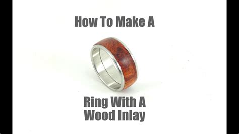 How To Make Wood Inlay Rings