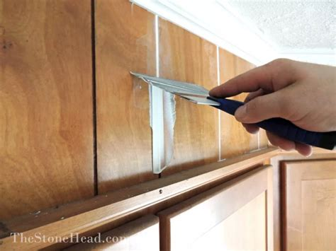 How To Make Wood Paneling Look Like Sheetrock