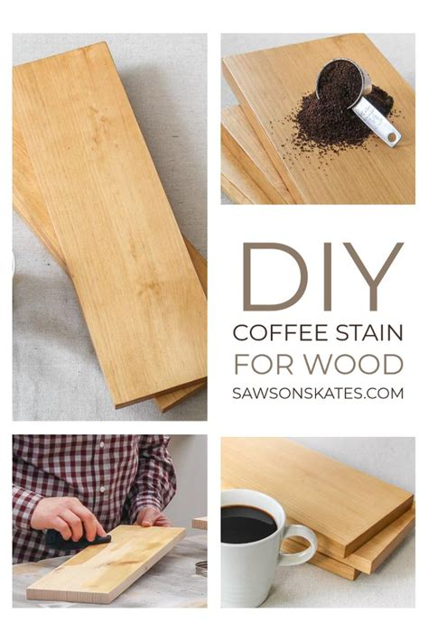 How To Make Wood Stain W Coffee