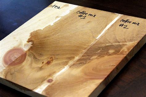 How To Make Wood Stain With Coffee