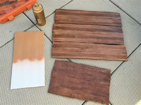How To Make Wood Texture With Acrylic