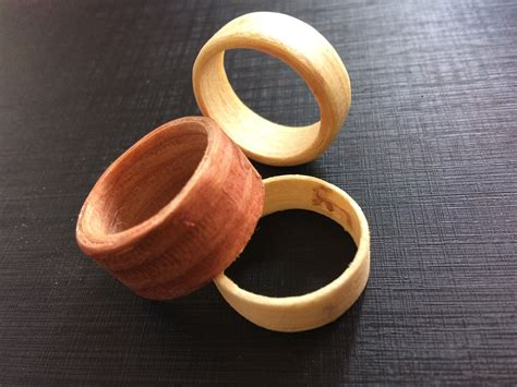 How To Make Wood Veneer Rings With Inlays