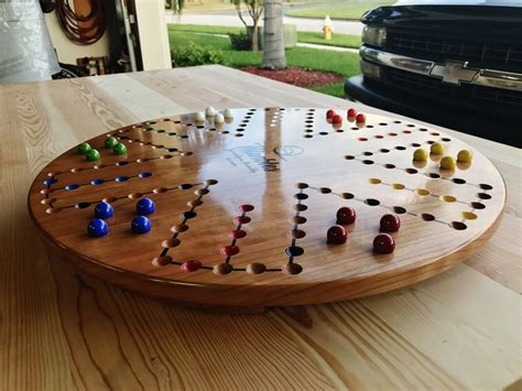 How To Make Wooden Aggravation Board