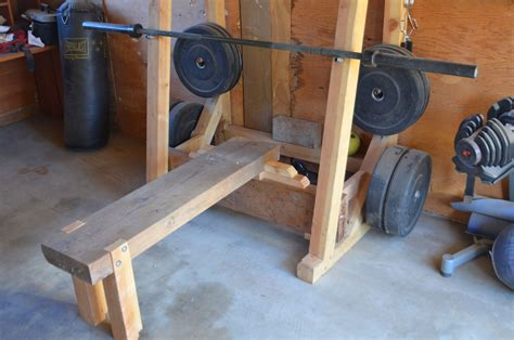 How To Make Wooden Bench Press