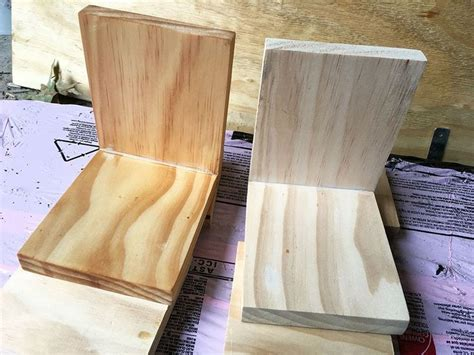 How To Make Wooden Bookends Plans