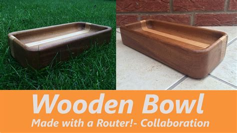 How To Make Wooden Bowls With A Router