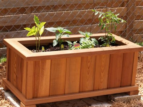 How To Make Wooden Garden Planters