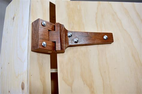 How To Make Wooden Hinges For A Door