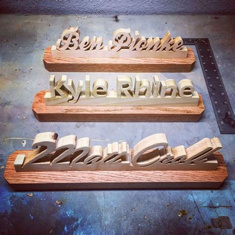 How To Make Wooden Name Plates