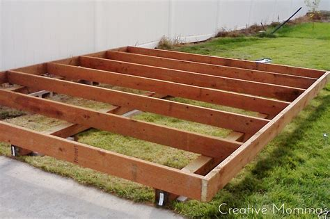 How To Make Wooden Shed Base